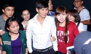 Bầu 6 tháng, Minh Hà không thể 'tháp tùng' Lý Hải đi sự kiện