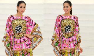 Phạm Hương nổi bật khi diện váy hàng hiệu đi dự sự kiện