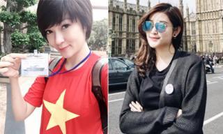 Tin sao Việt mới ngày 27/5: Nguyễn Thị Huyền ra Trường Sa, Huyền My viết nhầm địa danh du học