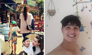 Tin sao Việt mới ngày 26/7: Hà Hồ dạo cùng con, Baggio trang trí nhà để đón baby