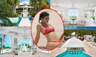 Bên trong biệt thự nghỉ dưỡng hơn 1 nghìn tỷ em gái Kim Kardashian thuê