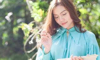 Ngọc Anh đẹp dịu dàng tại Thái Lan