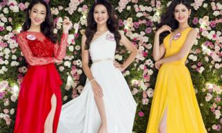 Người đẹp Hoa hậu Việt Nam 2016 khoe sắc lộng lẫy với váy dạ hội