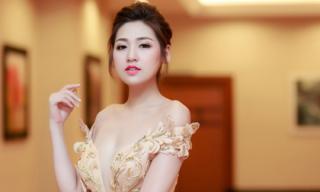 Một ngày bận rộn chạy show trong gió bão của Á hậu Tú Anh