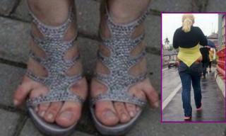 'Há hốc' với những kiểu thời trang nơi công cộng