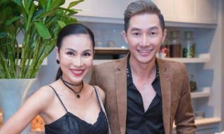 Nam Phong và Khánh Ngọc cùng nhau diện 'cây đen' sang trọng tham dự sự kiện