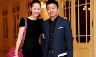 Vợ chồng Dương Thùy Linh sóng đôi đi cổ vũ em trai