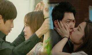 Những pha 'cưỡng hôn' nóng mắt trên phim truyền hình Hàn Quốc