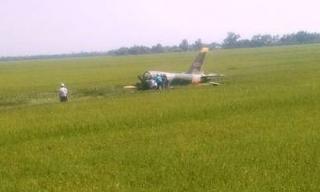 Rơi máy bay quân sự ở Phú Yên, một phi công tử nạn