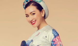 'Nữ hoàng ảnh lịch' Y Phụng giấu tuổi trong tà áo dài truyền thống