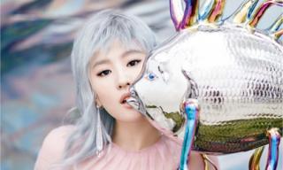 Lưu Diệc Phi tóc bạc trắng trên bìa tạp chí thời trang cô dâu
