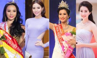 Trước giờ G, nhìn lại các Hoa hậu Việt Nam: 'Người hạnh phúc, kẻ ẩn dật, thị phi'