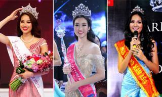 Hành trình đi thi '5 lần 7 lượt' để giành vinh quang của Hoa hậu Việt