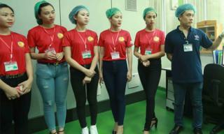 Hoa khôi sinh viên Hà Nội tham quan nhà máy Number 1 Hà Nam