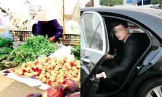 Bắt gặp mẹ vợ tương lai bán rau ngoài chợ chàng trai ngồi trên ô tô đã có hành động không ngờ