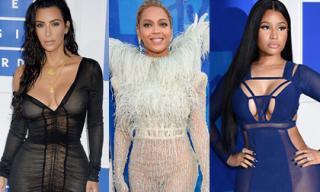 Váy áo xuyên thấu ngập tràn thảm đỏ MTV Video Music Awards 2016