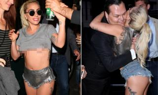 Lady Gaga nhiệt tình lăng xê chiếc quần 'hư hỏng' ra đường