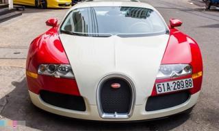 Minh Nhựa bán siêu xe Bugatti Veyron