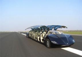 Chiêm ngưỡng 'siêu xe bus' 200 tỷ 'xịn' nhất thế giới của các đại gia Dubai