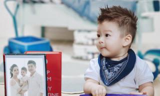 Con trai Nhật Kim Anh đáng yêu khi tròn 1 tuổi