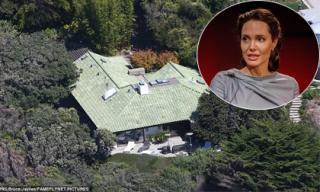 Angelina Jolie thuê nhà 2 tỷ/tháng để ở với các con trong lúc ly hôn Brad Pitt