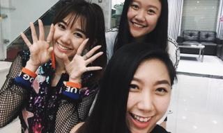 Em gái Trấn Thành khoe ảnh thân thiết cùng Hari Won