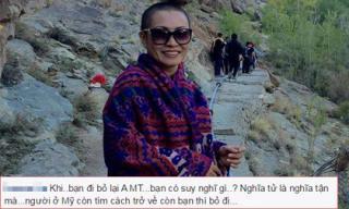 Câu trách 'lạnh người' của fans gửi đến Phương Thanh
