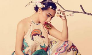 'Nữ hoàng ảnh lịch' Y Phụng kiêu sa cùng váy yếm cách điệu