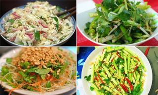 5 món nộm rau mùa thu nên học để đổi vị cho cả nhà