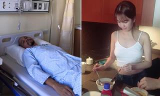 Tin sao Việt mới 27/9: NTK Đức Hùng nằm viện, Ngọc Trinh pha mì tôm khi qua Úc