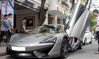 Cặp đôi siêu xe của Cường Đô La dạo phố Sài Gòn