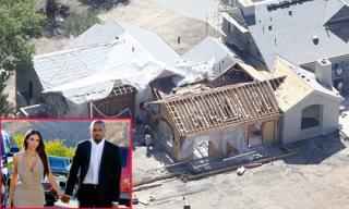 Vợ chồng Kim Kardashian chi hơn 400 tỷ đồng xây 'siêu biệt thự'