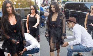 Đây là hậu quả của việc Kim Kardashian thích mặc đồ hở hang ra phố