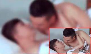 'Sốc' trước cảnh nóng đồng giới của Long Nhật và bạn trai