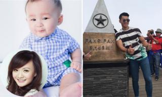 Tin sao Việt mới 30/9: Lộ ảnh con trai Xuân Mai, Trương Nam Thành chinh phục đỉnh Phan Xi Păng