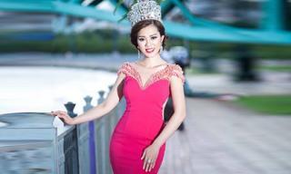 Hoa Hậu Vân Khương nhận lời mời làm MC đêm Chung kết Tiếng hát Việt 2016
