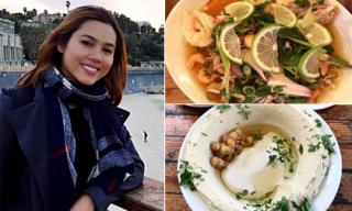 'Theo chân' Á hậu Hoàng My khám phá những món ăn ngon ở đất nước Israel