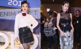 Angela Phương Trinh kín bưng, Thuỷ Tiên khoe nội y tinh tế trên thảm đỏ Elle Show 2016