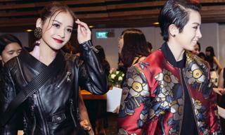 Chi Pu, Gil Lê đột ngột bỏ về trước khi Elle Show diễn ra