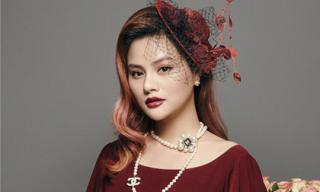 Vũ Thu Phương khoe vẻ đẹp ngọt ngào, quyến rũ khi diện đầm đỏ