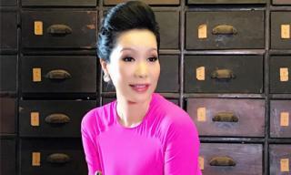 Á hậu Trịnh Kim Chi khoe ảnh đẹp trong ngày 20/10