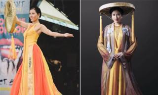 Nguyễn Thị Loan lọt top 10 trang phục dân tộc đẹp nhất Hoa hậu Hòa bình Quốc tế 2016