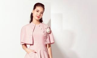 Hoa hậu Trần Thị Quỳnh tái xuất sành điệu và ngọt ngào