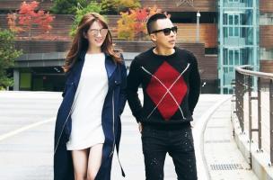 Ngọc Trinh xinh tươi 'tỏa nắng' trên đường phố Hàn Quốc