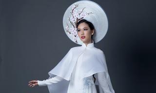Phương Linh công bố trang phục dân tộc đậm chất uy quyền tại Hoa Hậu Quốc tế 2016