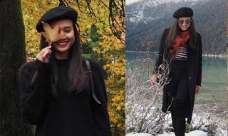 Bạn gái Bằng Kiều lẻ bóng ở Canada trong khi người yêu đi lưu diễn