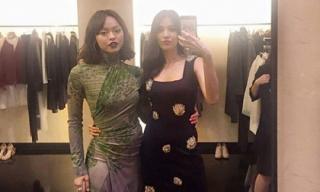 Lan Khuê quý phái, Mai Ngô 'quấn chăn' thành váy giữa dàn fashionista
