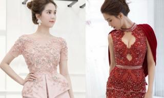 Mặc đẹp thế này, Ngọc Trinh có sợ làm 'lu mờ' thí sinh Hoa hậu Quốc gia Hàn Quốc