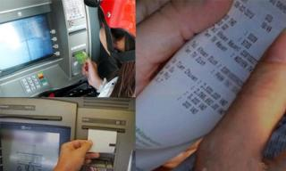 Ra ATM rút nốt 100 ngàn trong tài khoản thì gặp vợ cũ nghèo rớt mùng tơi cũng đang vào đó và sốc nặng khi thấy số tiền em rút ra