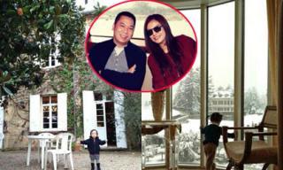 'Đột nhập' nông trang 136 tỷ đồng của vợ chồng Triệu Vy ở Pháp